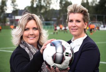 KNVB.NL: Twee vrouwen aan het roer bij VVIJ: 'Wij willen doorpakken'