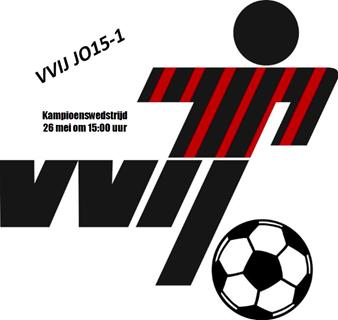 VVIJ J015-1 Kampioenswedstrijd - 26 mei om 15:00 uur