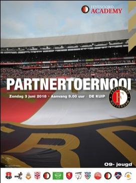 Feyenoord partnertoernooi voor VVIJ JO9-1, zondag 3 juni, in de Kuip