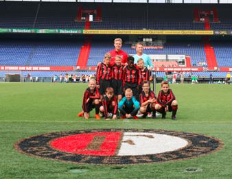 VVIJ JO9-1 - Partnertoernooi bij Feyenoord in de Kuip