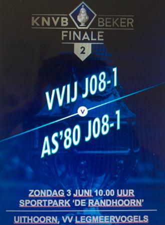VVIJ JO8-1- Bekerfinale - 03 juni 10:00
