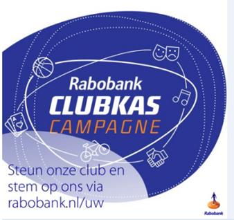 Stemmers Rabobank Clubkas Campagne, bedankt!