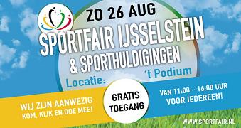 Sportfair 26 augustus - VVIJ doet mee