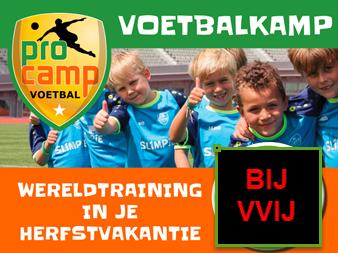 Pro Camp voetbalkamp bij VVIJ - 25 en 26 oktober