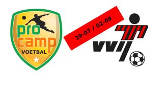 Pro Camp Voetbalkamp bij VVIJ deze zomer (29-07 / 02-08)
