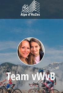 Alpe d'HuZes - Yente van Wijk van Brievingh MO17-3