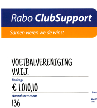 Rabo ClubSupport - uitslag is bekend