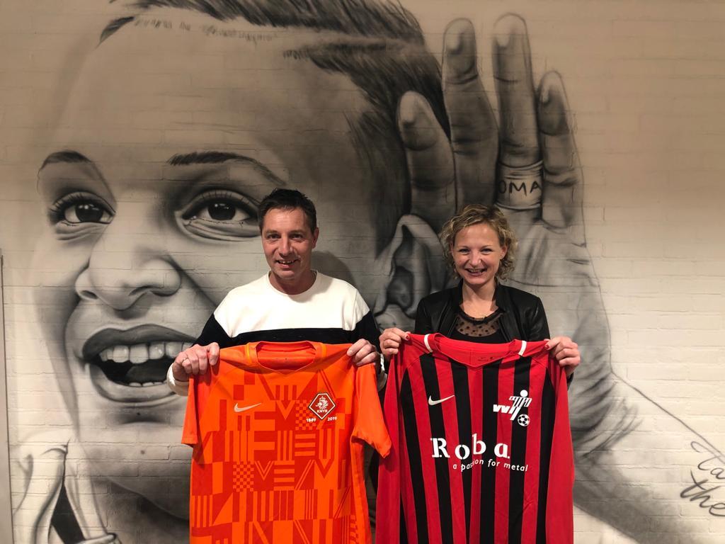 Shirtje ruilen met de KNVB