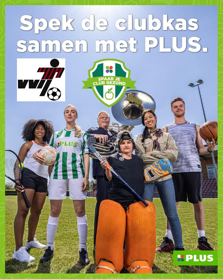 Spek de VVIJ clubkas samen met PLUS J.Schimmel