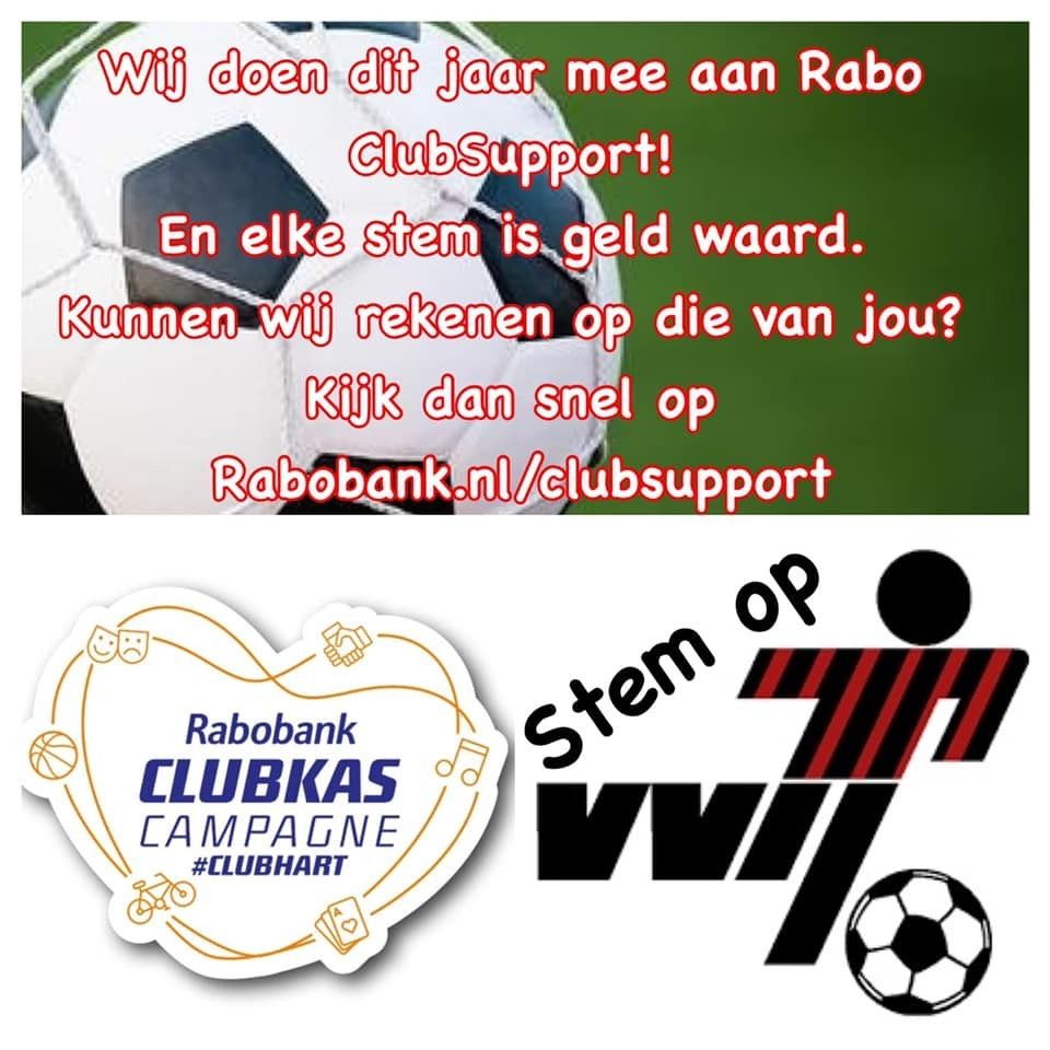 VVIJ doet mee met Rabo ClubSupport - Stemmen vanaf 5 oktober