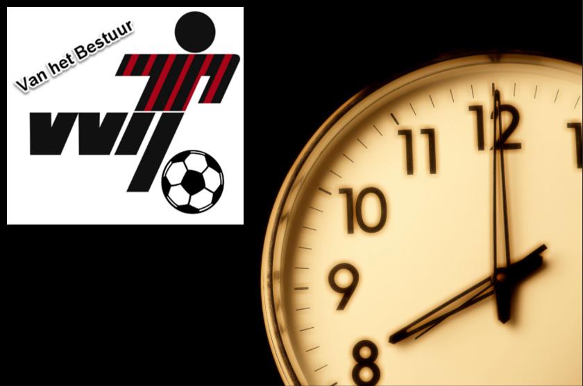 Alternatief trainingsschema per 31-03-2021 (avondklok 22:00)