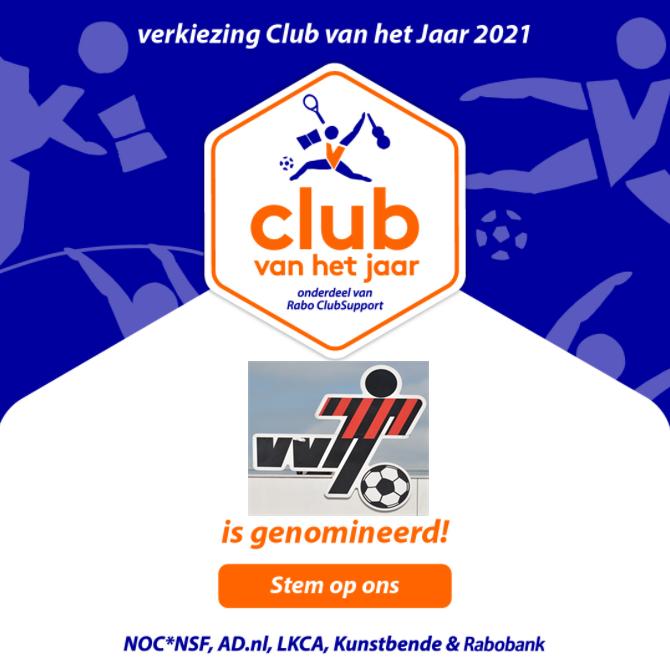 VVIJ Club van het jaar - Stem op VVIJ!